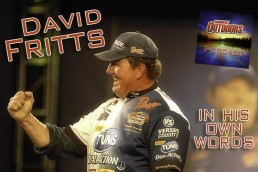 Bass fishing legend David Fritts appears on the MidWest Outdoors podcast. He goes into detail on his crankbait fishing secrets.