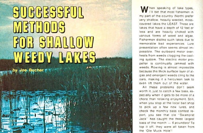 Joe Bucher's Fishing Facts Debut