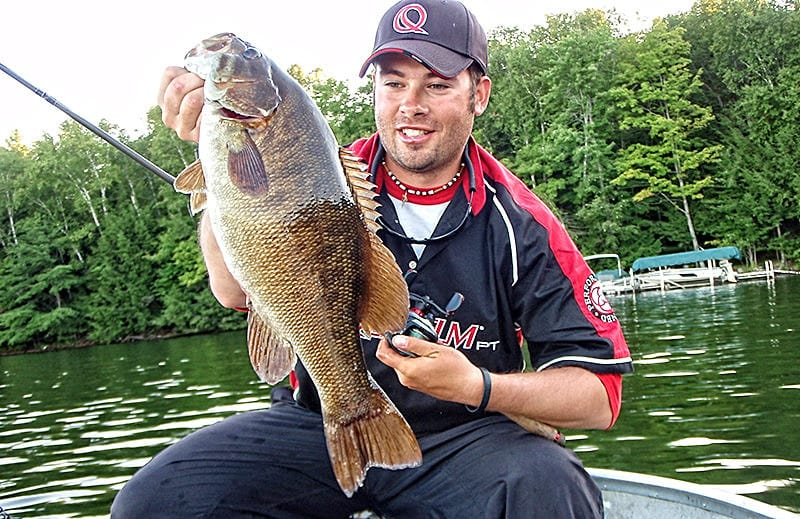 Scoring Summer Smallmouths
