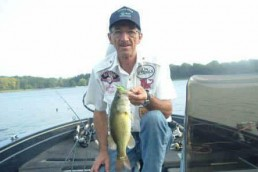 Johnnie Crain with a nice summer bass.