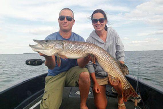 Devils Lake Trophy Pike Pursuit a Family Affair