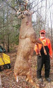 Dr. Ken Nordberg with big buck.