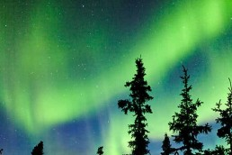 Northern Lights display in Canada