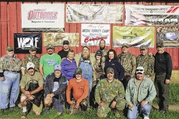 A photograph of the Ray Eye Ozarks Media Hunt Group.