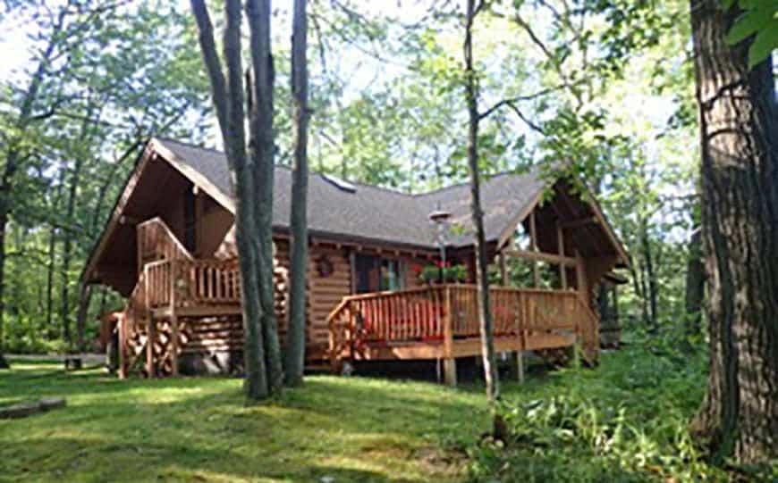 Log Cabin For Sale – Spooner, WI