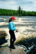 One of Ogoki's many rapids.