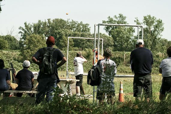 Families in the Field: Good Numbers of Kids go Shooting, Hunting