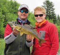 Bolton Lake created excellent bonding time for Logan and Larry Ladowski, as well as a welcomed escape from the everyday hectic pace.