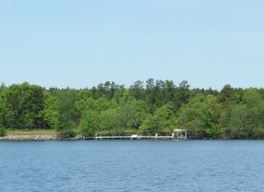 Lake Petenwell 3.4-acre waterfront lot for sale