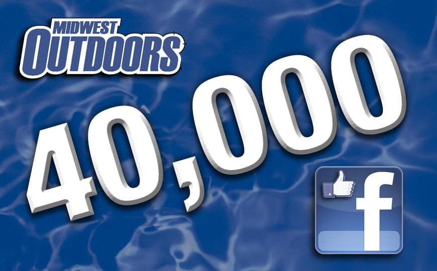 Thanks for helping us reach 40,000 likes