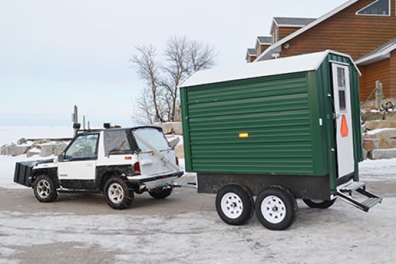 Full-service Ice Fishing Made Easy