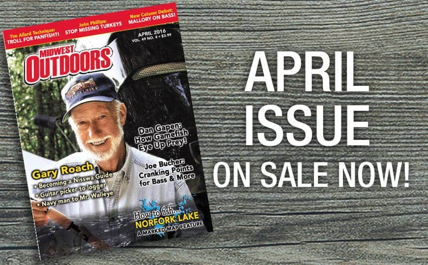 April issue on sale now