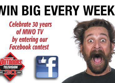 Enter MWO TV's Facebook contest to win weekly prizes and a grand prize boat & motor!