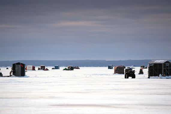 Michigan is a Winter Wonderland, Especially for Ice Fishing