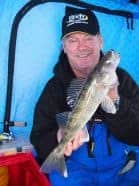 Walleyes are commonplace when fishing in March on Lake of the Woods.