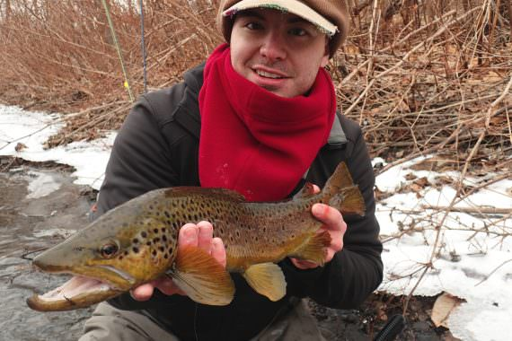 Simple Trout Fishing with Essential Flies