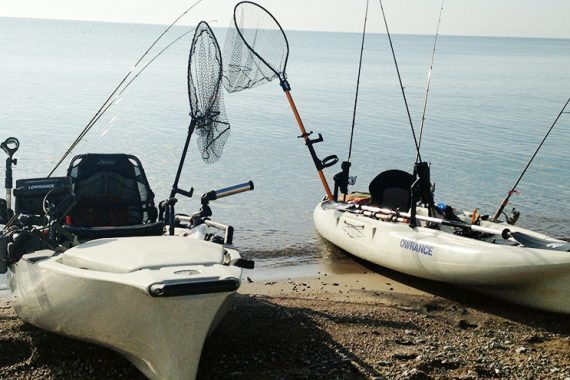 Kayak Cohos: Reaching Past a Cast from Shore