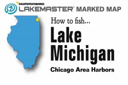 Fishing Chicago - Fishing Chicago harbors - Chicago fishing spots - Chicago Fishing Map - Lake Michigan Illinois Fishing Map - Fishing Downtown Chicago