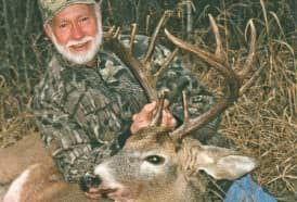 Less known as a hunter, Roach is an expert woodsman, excellent shot, and a lifelong hunter of whitetail deer and other animals.