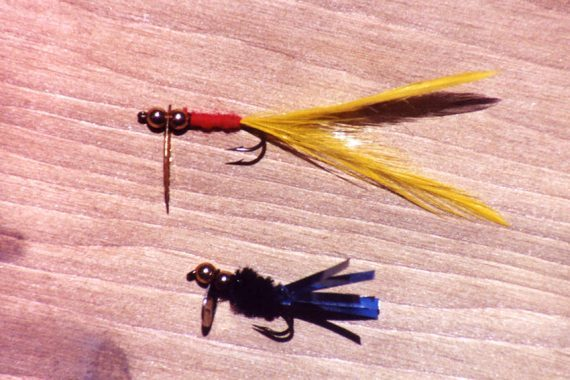 Audible Flies: Meet the Click-Tink and Whirl Fly Patterns