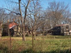 In the 1800s, Eye's great grandfather moved his family from the Eye settlement west of Potosi to a farmstead at the base of Johnson Mountain. His grandfather later moved to the same farmhouse where his dad was born and raised.