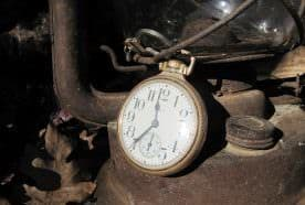 ' … At the head of sawmill holler, I pause to ease the pain in my burning legs … check the time on my grandpa's pocket watch, the same one I carried up thismountain during my first turkey hunt back in 1962.'