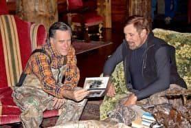 Rob Keck and Gov. Mitt Romney