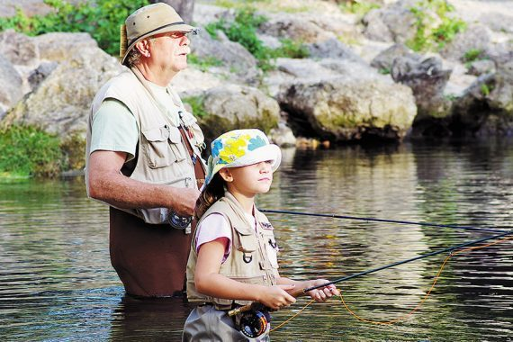 Young or Old, Athlete or Not, You can Learn to Fly Fish