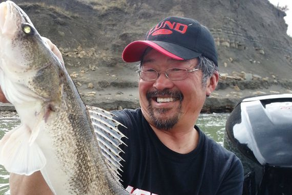 Spring Sauger Tactics for River Fishing
