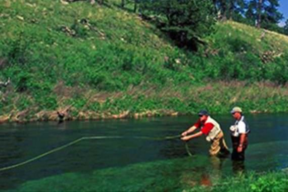 Trout Fishing Abounds in the Black Hills