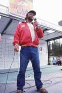 Martin, 1990, after winning the first-ever Professional Walleye Trail Championship.