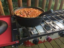 Cast-iron cookware delivers even heat and can even add a bit of iron to your diet.
