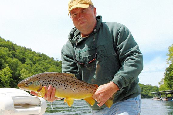 Winter a Prime Time to Catch Big Trout in Missouri