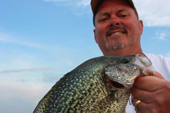 Techniques for Catching Hot-weather Crappies