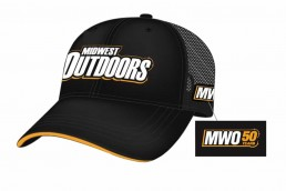 MidWest Outdoors Hats, Fishing Hats, MidWest Outdoors Apparel, MWO 50th anniversary hats, MWO gear