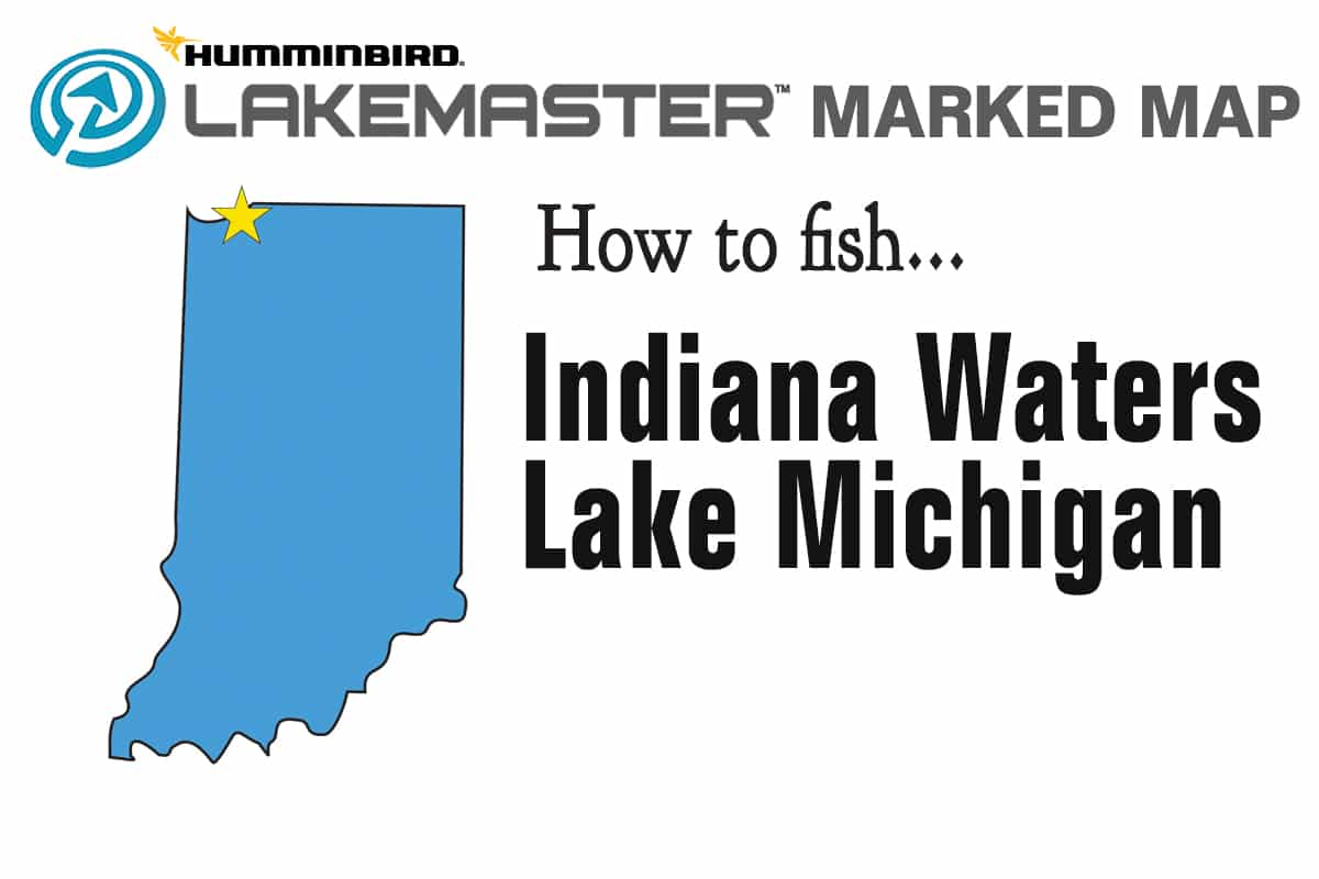 Michigan And Indiana Map.Lake Michigan Indiana Fishing Map Fishing Lake Michigan Indiana