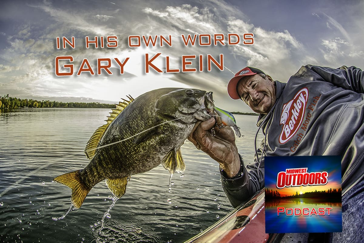 Pro bass fisherman Gary Klein appears on MidWest Outdoors Podcast
