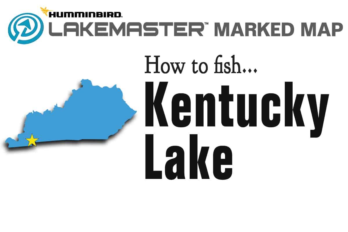 Fishing Hotspots L120 Kentucky Lake Maps Kentucky Lake North
