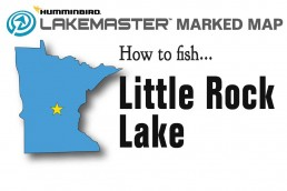 Fishing Little Rock Lake | Little Rock Lake Fishing Map | Little Rock Lake Minnesota