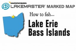 Lake Erie map | fishing Lake Erie