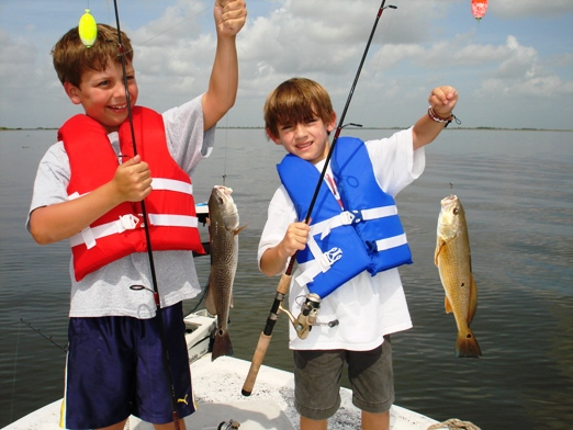 Teaching Kids How To Fish With The Proper Gear