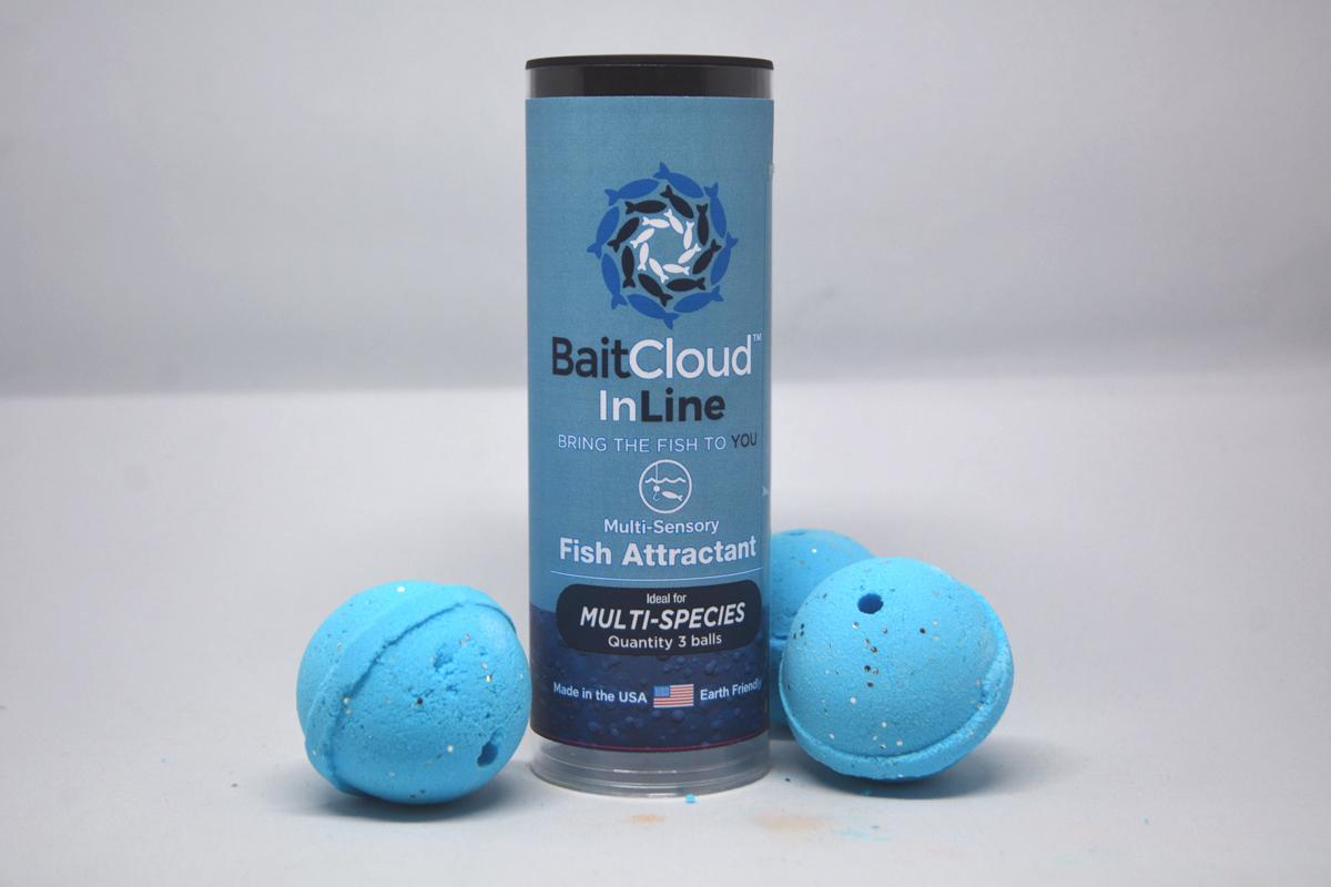 Baitcloud midwest outdoors for Baitcloud fish attractant