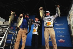Clunn stunned the bass fishing world when he won a BASS Elite Series tournament in 2016 on Florida's St. John's River at age 69. Photos: B.A.S.S.