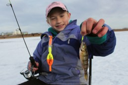 Slip bobbers are both simple to use when you take kids fishing and effective for catching many species of fish.