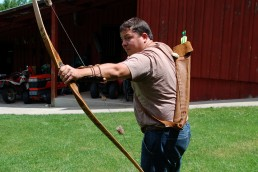 Traditional archery with no sights or mechanical advantages offers enjoyment all year.