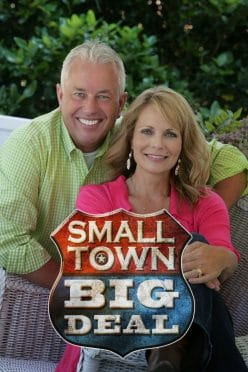 """Small Town Big Deal is a nationally syndicated television show that features stories of interesting people and events across the United States. It has been called a """"celebration of the great stories of America."""" Small Town Big Deal originally aired on cable station RFD-TV, where it grew into one of that station's most popularly rated programs. With its syndication in markets from New York and Atlanta to Philadelphia and Dallas, the show now reaches over three-fourths of the nation. It airs in the majority of U.S. major TV markets and on over 150 local stations. In April 2017, the show completed a deal with the Armed Forces Network to be viewed by U.S. troops stationed abroad in over 170 countries. The show's creator, Rodney Miller, grew up on a farm in southern Illinois and went on to become the CEO of two international tractor manufacturing companies before launching Small Town Big Deal in 2012. He was joined a year later by co-host Jann Carl, who left the red carpets of Hollywood as Entertainment Tonight's senior correspondent and weekend anchor. Together, Jann and Rodney's on-air chemistry and humor have captured the hearts of viewers with ratings that continue to strengthen with each season. Their show is also appreciated for its family-friendly focus, holding the prestigious Seal of Approval from the Parents Television Council."""