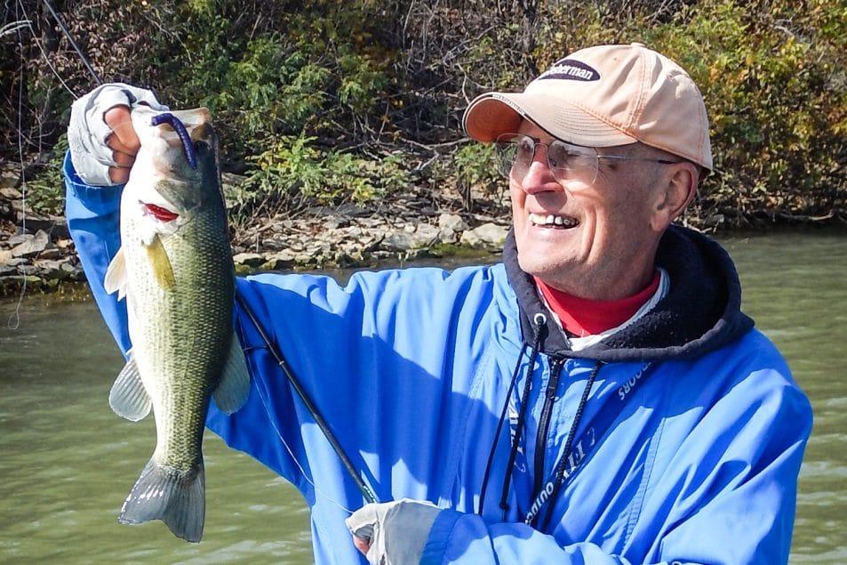 Midwest Finesse bass fishing   bass fishing Texas-rigged worms   Ned Kehde fishing   bass fishing ned rig   finesse bass fishing