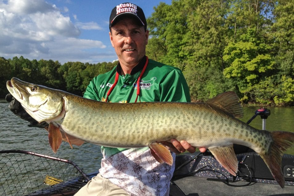 how to catch big muskie during spring   spring muskie tips   jim saric muskie fishing   jim saric fishing   jim saric
