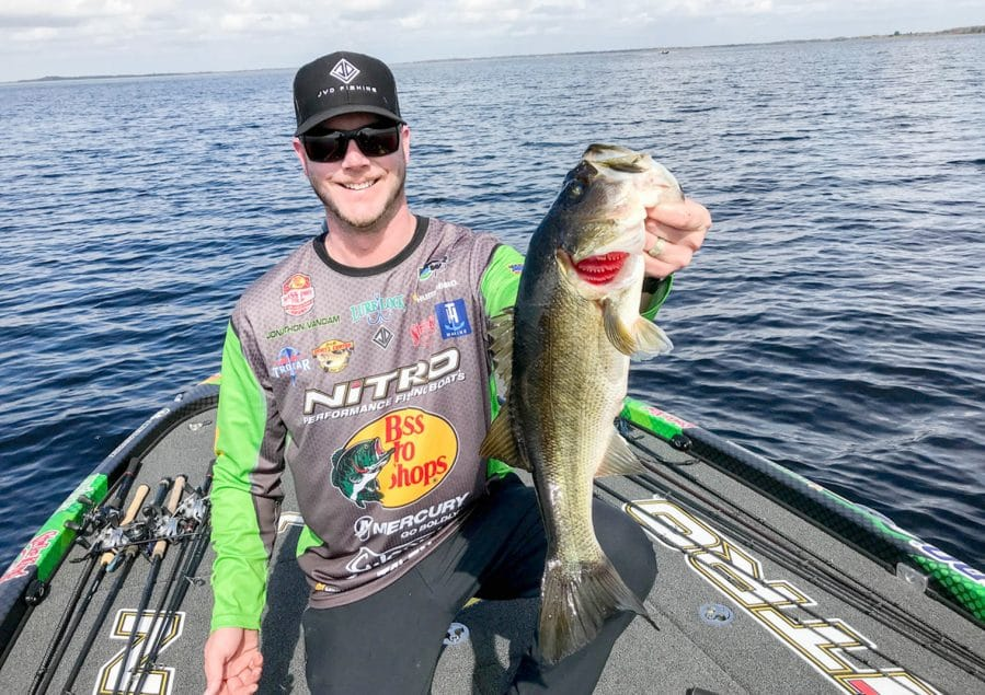 pro bass fisherman Jonathon VanDam on the MidWest Outdoors Podcast