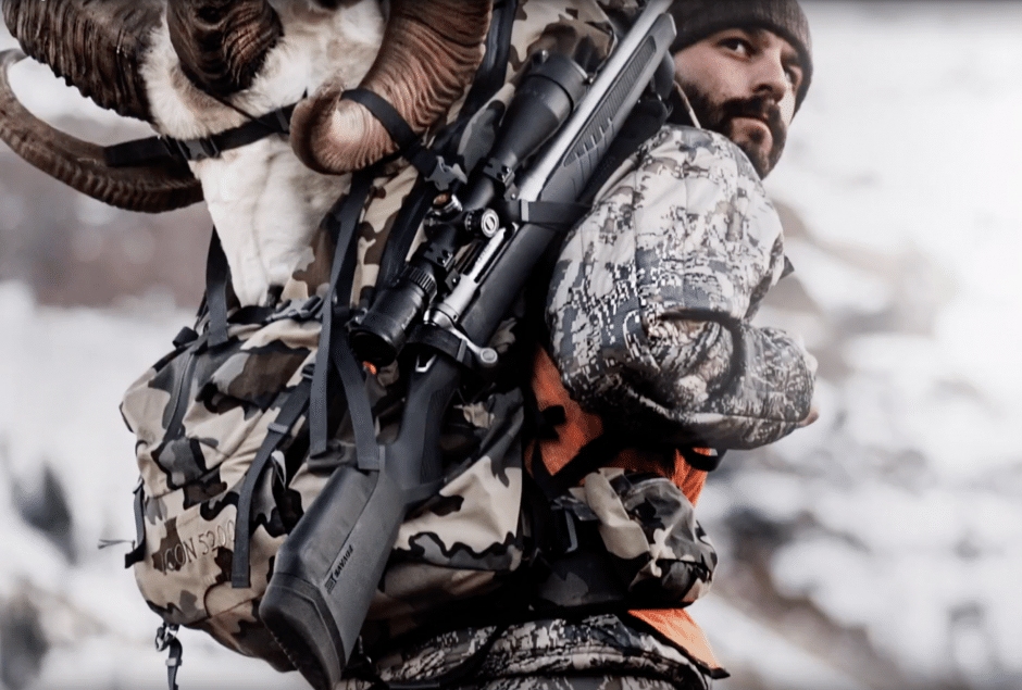 Savage customizable rifle stock